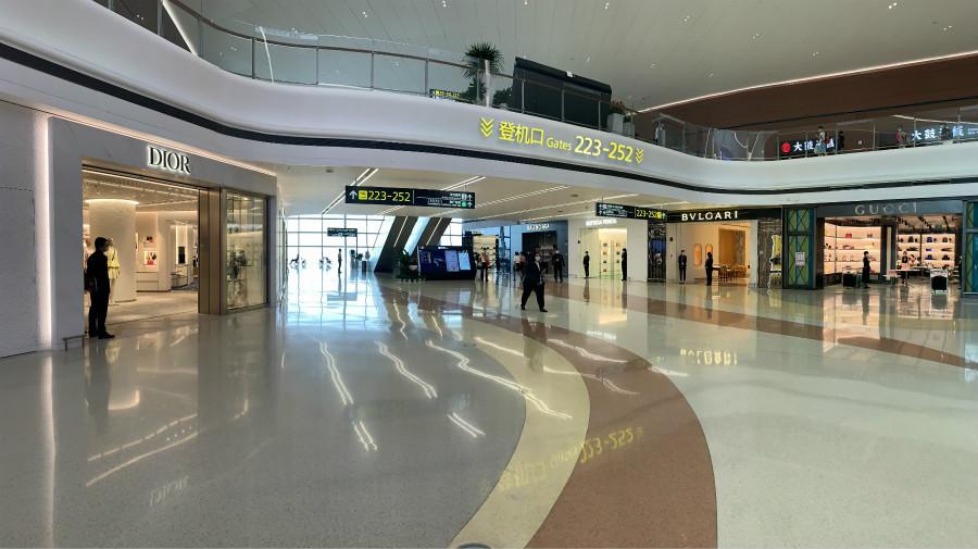 """种类多样、""""包邮""""到家 天府国际机场让你购物无忧"""