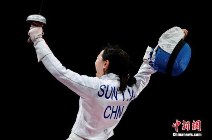 孙一文一剑封喉 为中国代表团夺得首日第三金