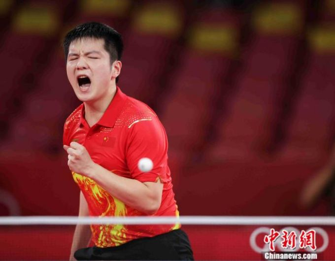 有惊无险!樊振东战胜林昀儒 挺进奥运乒乓男单决赛