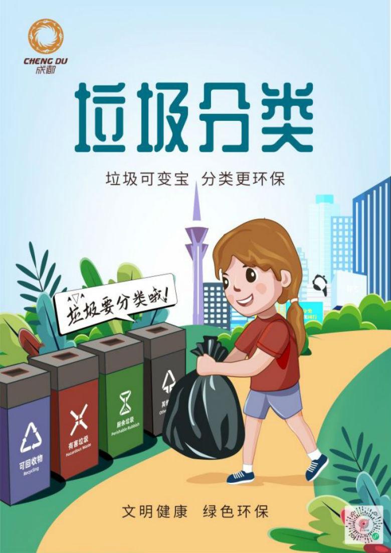 【文明健康绿色环保】垃圾分类